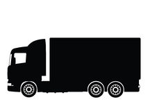 卡车向量 库存照片