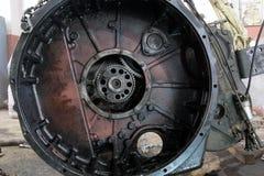 卡车引擎 库存图片