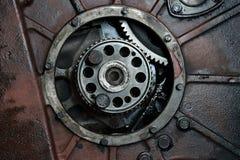 卡车引擎 库存照片