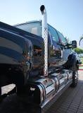 卡车排气管 免版税图库摄影