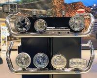 卡车照明设备辅助部件 库存照片