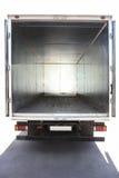 卡车的打开容器 免版税库存照片