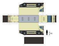 卡车的纸模型 库存照片