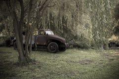 卡车葡萄酒 库存照片