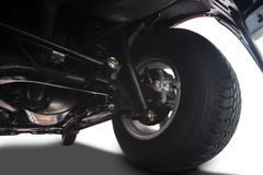 卡车轮子细节 免版税库存图片