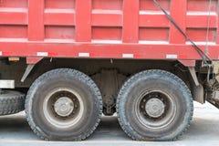 卡车轮胎 免版税库存图片