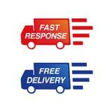 卡车送货业务 免版税图库摄影