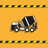 卡车 适应图标 在轻的背景的有条件传染媒介图象 向量例证