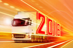 卡车2016年 免版税库存图片
