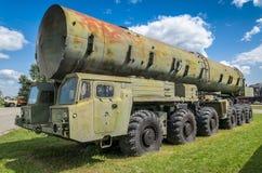 卡车MAZ-543导弹载体 免版税库存图片