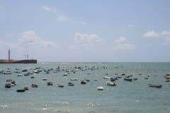 卡迪士海岸 免版税库存图片
