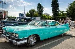 卡迪拉克小轿车Deville 1959年 库存照片