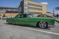 1967年卡迪拉克小轿车DeVille Hardtop 免版税图库摄影