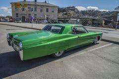 1967年卡迪拉克小轿车DeVille Hardtop 图库摄影