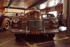 1941年卡迪拉克敞篷车小轿车 免版税库存照片