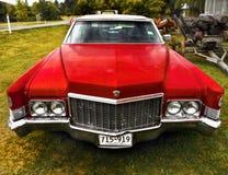 卡迪拉克经典美国葡萄酒汽车 免版税图库摄影
