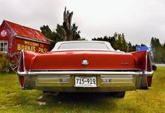 卡迪拉克经典美国葡萄酒汽车 库存图片