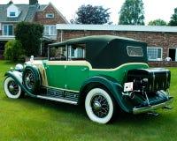 1930年卡迪拉克轿车弗利特伍德 图库摄影