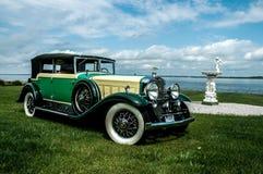 1930年卡迪拉克轿车弗利特伍德 免版税库存照片