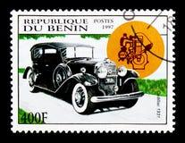 卡迪拉克, 1931个模型,葡萄酒汽车serie,大约1997年 免版税库存图片