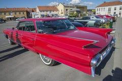 1961年卡迪拉克系列62 6窗口轿车 库存图片