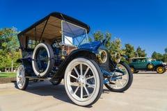 1911年卡迪拉克30游览的经典汽车 库存图片
