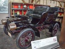 1906年卡迪拉克2门游览 库存照片