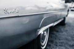 卡迪拉克Coupe de Ville的细节 库存照片