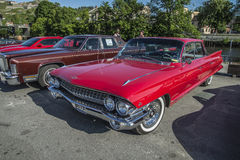 1961年卡迪拉克Deville轿车 免版税库存图片