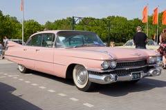 1959年卡迪拉克Sedan De Ville汽车 库存照片