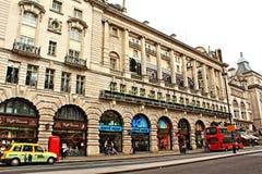 卡迪里美丽的豪宅伦敦威斯敏斯特英国 库存图片