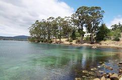 卡那封海湾-塔斯马尼亚,澳大利亚 库存照片