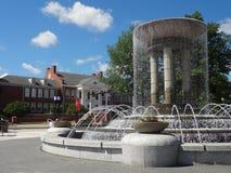 卡里,北卡罗来纳公园和艺术中心 免版税库存照片