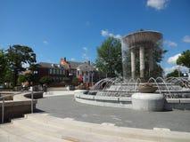 卡里,北卡罗来纳公园和艺术中心 免版税库存图片