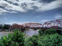 卡门桥梁,卡加延德奥罗菲律宾 库存图片