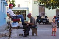 卡马圭古巴 免版税库存照片
