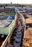 卡马圭联合国科教文组织世界遗产名录中心从上面 库存图片