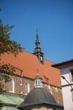 卡齐米日的科珀斯克里斯蒂教会在克拉科夫波兰 库存照片