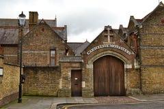 卡默利特平纹薄呢修道院诺丁山伦敦 库存图片