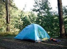 卡累利阿北部俄国帐篷森林 免版税库存照片