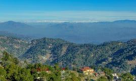 卡绍利,喜马偕尔邦,印度 免版税库存图片