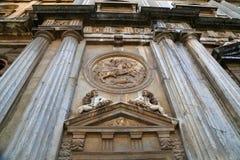 卡洛斯五世,阿尔罕布拉宫,格拉纳达,西班牙新生宫殿  免版税库存图片