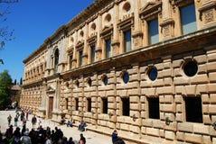 卡洛斯・格拉纳达宫殿v 免版税库存照片