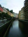 卡洛维的河变化 免版税库存照片