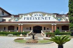 卡维的Freixenet 免版税库存图片
