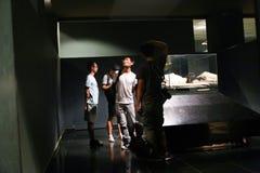 卢克索博物馆的-埃及国王妈咪 库存图片