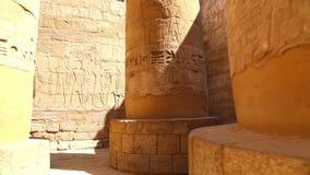 卢克索神庙充分的HD录影 影视素材