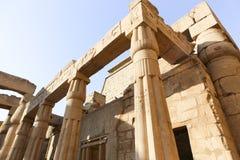 卢克索-埃及的寺庙 库存图片