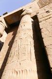 卢克索-埃及的寺庙 免版税库存照片