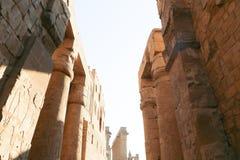 卢克索-埃及的寺庙 库存照片